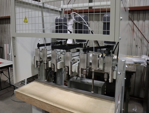 Multiple-Spindle Boring