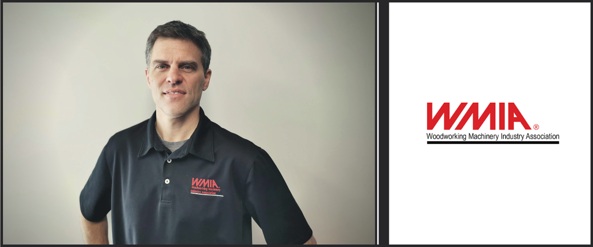 Pascal Doucet named Chairman of the Woodworking Machinery Industry Association (WMIA). First Canadian elected to this position.