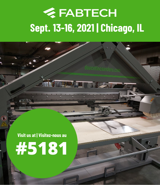 We will be exhibiting at Fabtech! 📢