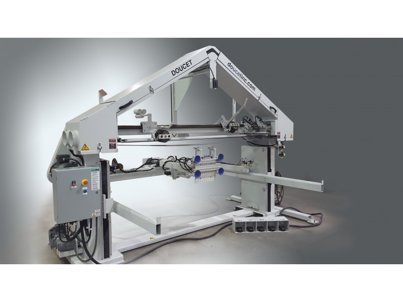 EBP - Enclosure Box Stroke Belt Polisher