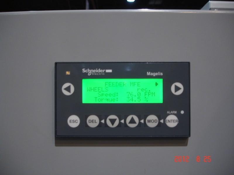 MFE-150 - Alimenteur latéral pour moulurières - Contrôle