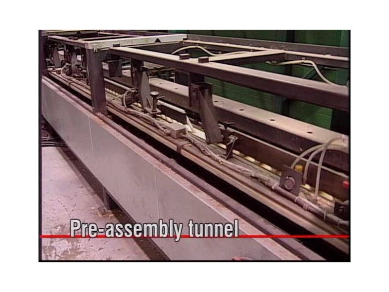 DJ-400 - MT Pre-assembly tunnel