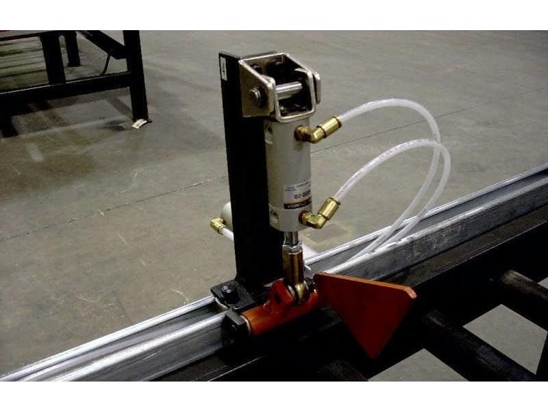 End-Press - Butée pneumatique sur système de sortie