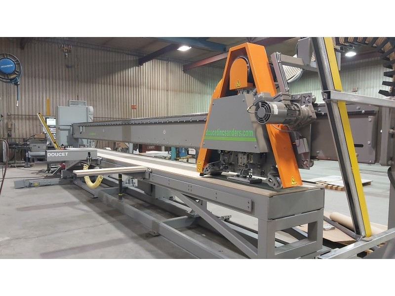 Polishing capacity is 30'' wide x up to 24' long