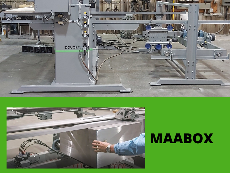MAABOX Multi-axis arm for encloser box