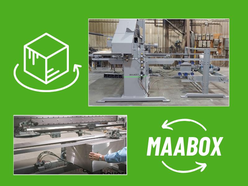 MAABOX Multi-axis arm for encloser box