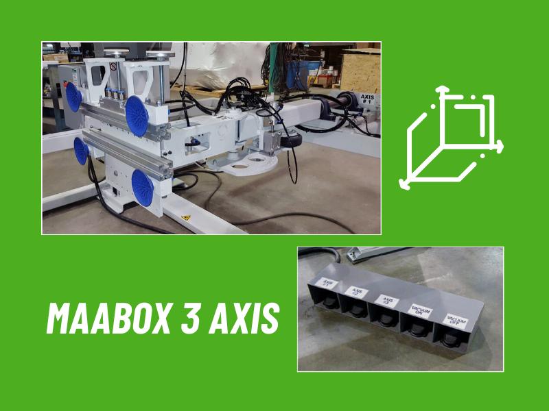 MAABOX: 3 axis rotation