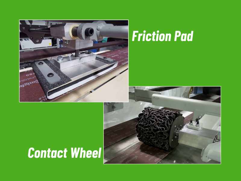 Contact Wheel and Friction Pad