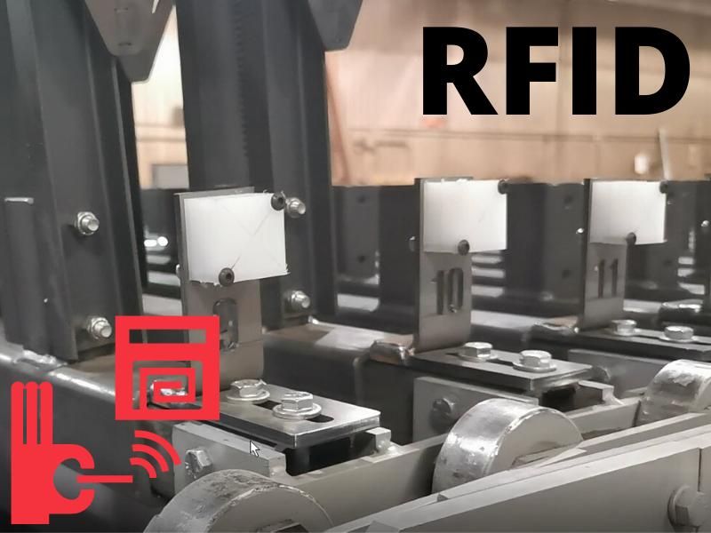 Option: RFID Tracking device