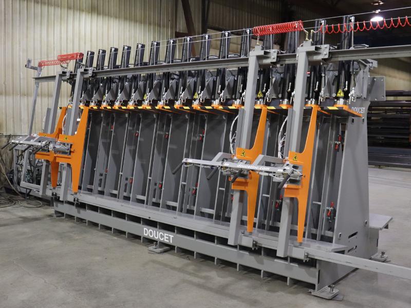 Hydraulic Stiles Press