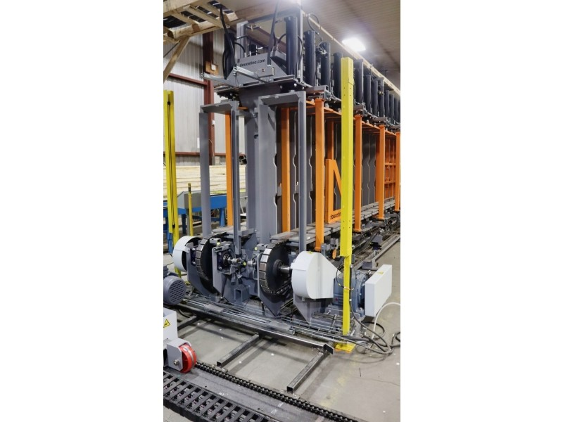 Laminated Beam Vertical Cold Press - Outfeed
