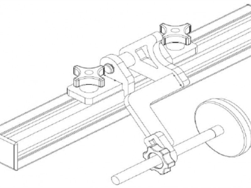 Support bracket to facilitate assembly of drawer box top member