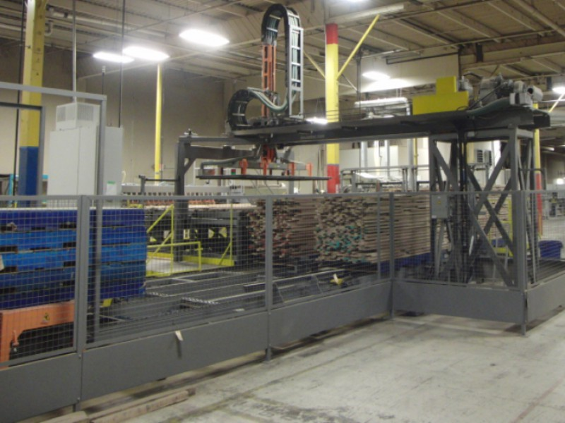MANYX Stacker/Destacker with pallet stacker option